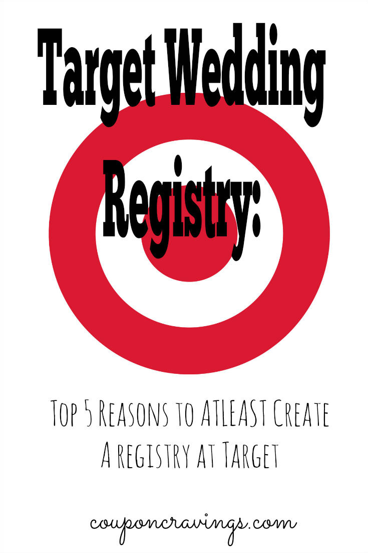 Top 5 perks of a target wedding registry for Popular wedding registry locations
