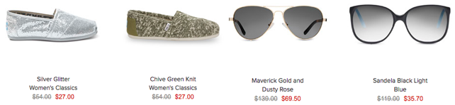 TOMS Shoes Up to 70% Off, Starting at $27 Shipped!
