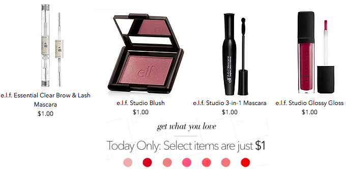 e.l.f. Cosmetics: 25 Women's Beauty Products, Only $25 Shipped!