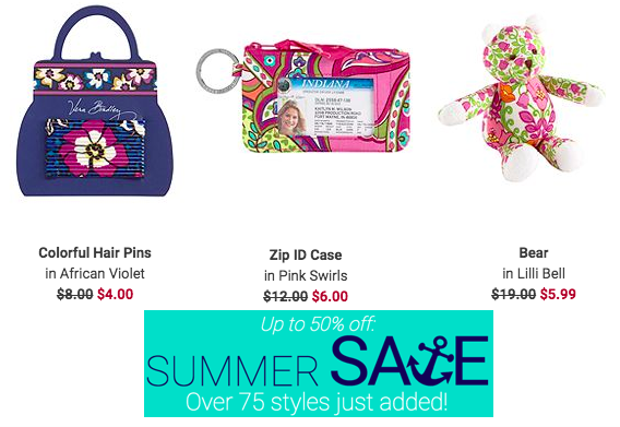 Vera Bradley Items Starting at Only $4.00 Shipped!
