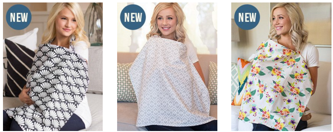 Get free stuff for babies by mail like these free nursing covers for moms