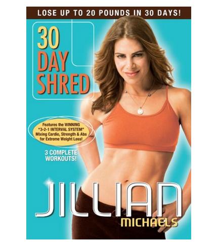 "Jillian Michaels ""30 Day Shred"" DVD, Just $7!"
