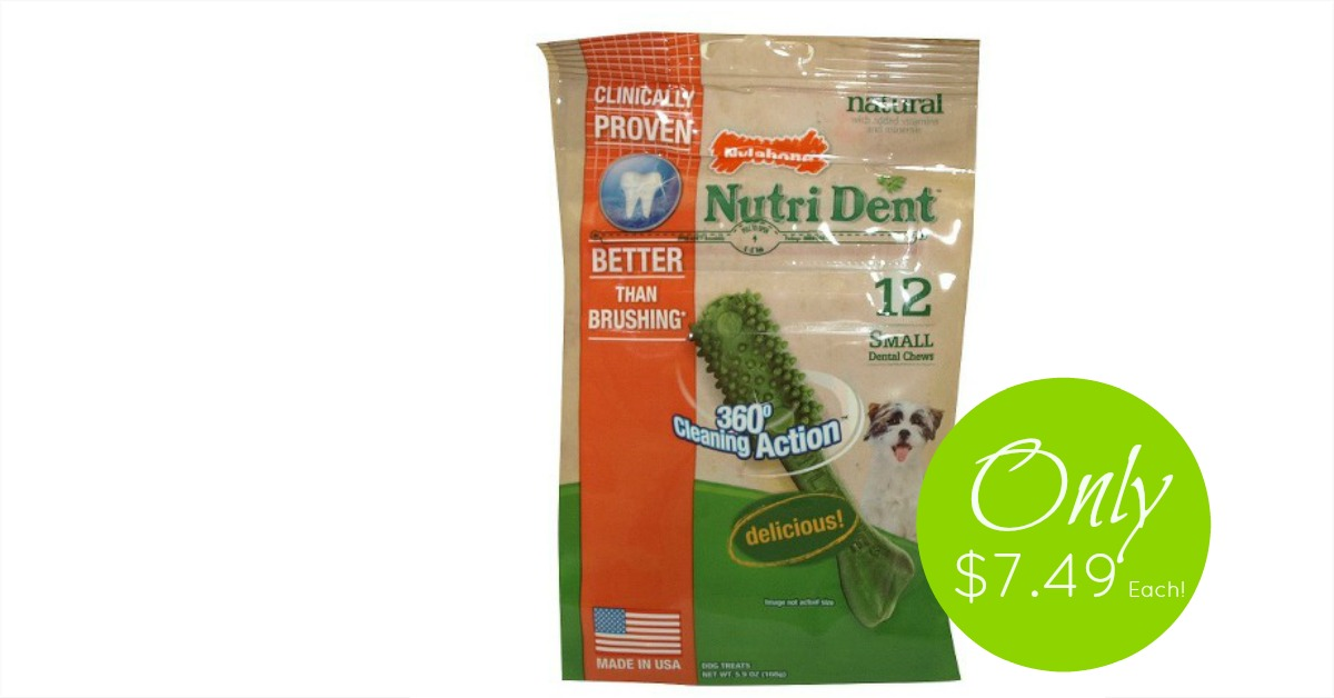 36-ct. NutriDent Bags, Only $6.79 Each!