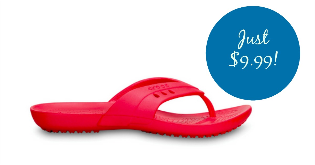 Crocs Shoes for the Family, Under $10 + Free Shipping!