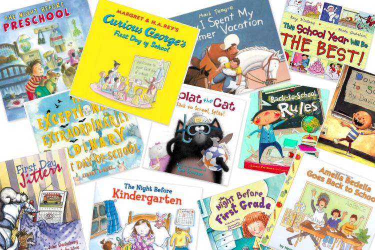 12 GREAT Back to School Books for Kids!