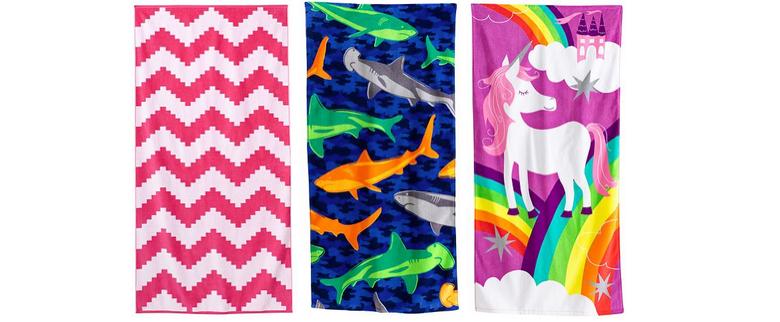 kohls beach towels on sale