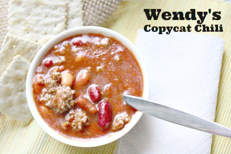 wendys copycat chili