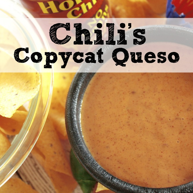Copycat Chili's Restaurant Menu Item: Chili's Skillet Queso