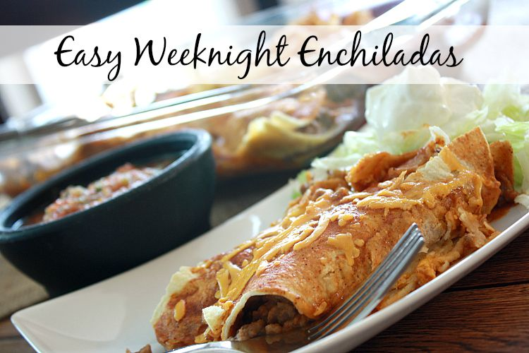 These easy enchiladas are a hit during the week at my house as I can make them the night before or the day of and bake them when I am ready. If you're looking for make ahead meals, this is a great one to add to your menu plan.  Also add this one to your list of meals to take to someone in need. {read more} https://couponcravings.com/beef-and-cheese-enchiladas/