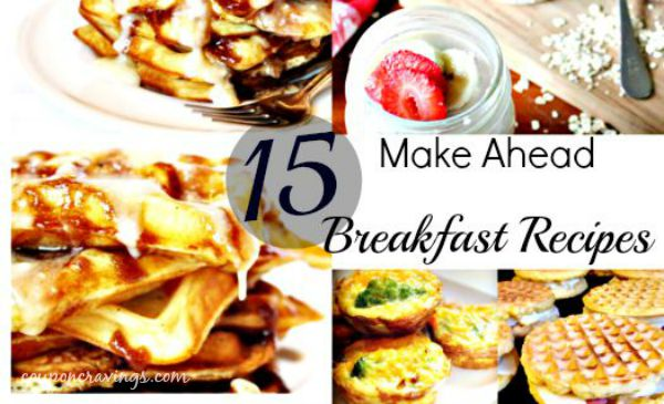 Ditch the drive thru with these 15 easy breakfast ideas. From make ahead breakfast burritos, a breakfast casserole crockpot concoction you're going to love, to homemade poptarts and even some nice oatmeal recipes, this post has them all. Pin this to your breakfast Pinterest board for safe keeping. My favorite is for sure {read more} https://couponcravings.com/15-Easy-and-Quick-Breakfast-Ideas/