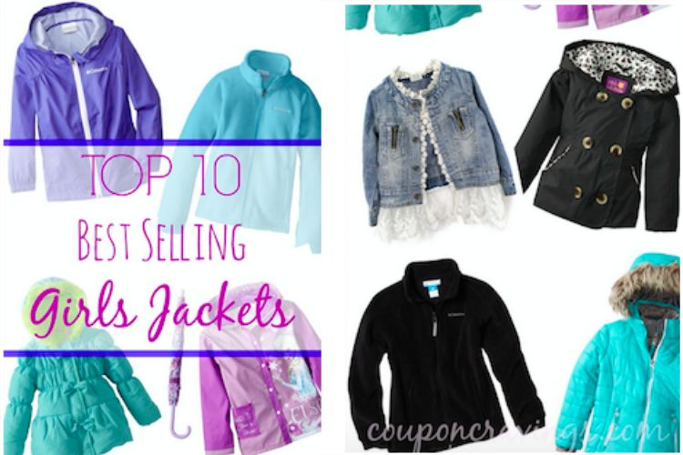 Top 10 Best-Selling Girls Jackets &amp Coats Starting at $6.99 Each! -