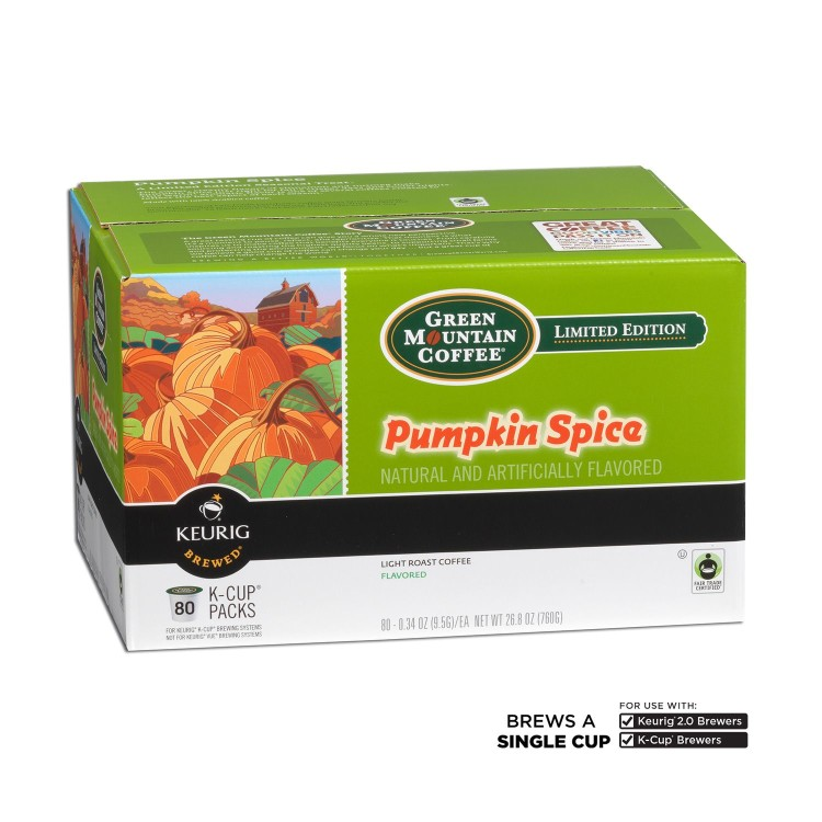 Craving a pumpkin spice Latte? Score the Green Mountain pumpkin spice coffee K Cups on sale!