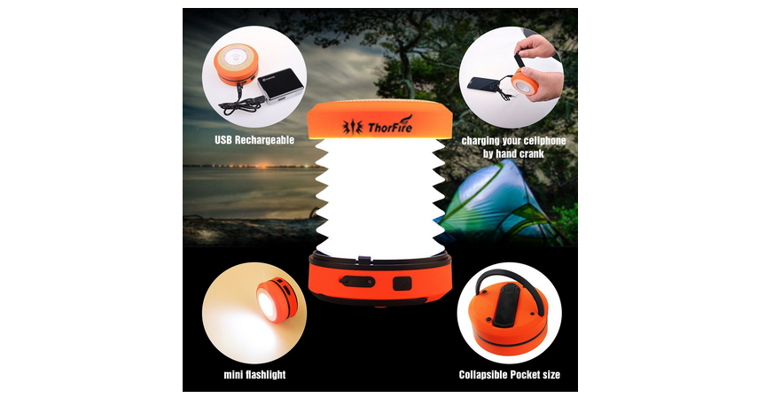 ThorFire Camping LED Lantern, Only $9.98