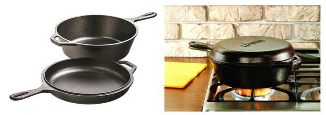 Lodge Pre-Seasoned Cast-Iron Kitchen Cooker, Only $25 (Reg