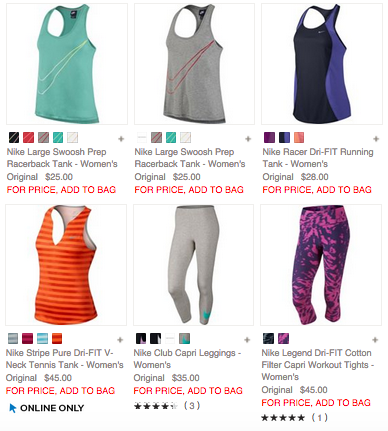 Buy nike womens clothing online