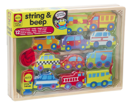 ALEX Toys Little Hands String and Beep Toy, Just $8.66