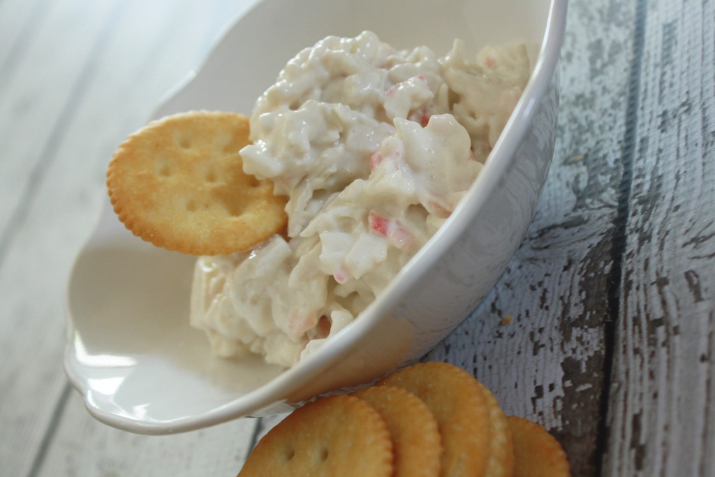 Crab dip with cream cheese