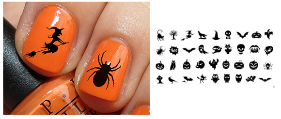Halloween Nail Decals Only 449 Shipped