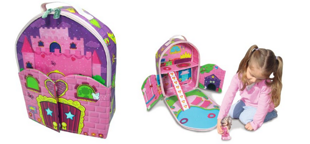 Neat-Oh! ZipBin Doll House Backpack, Only $7 (Reg. $23!)