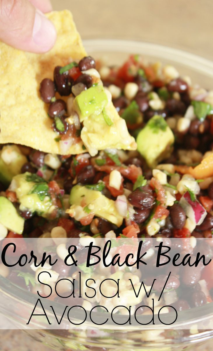 7077f79ce2b This Salsa with Avocado takes about 10 minutes to make and is a hit  appetizer to