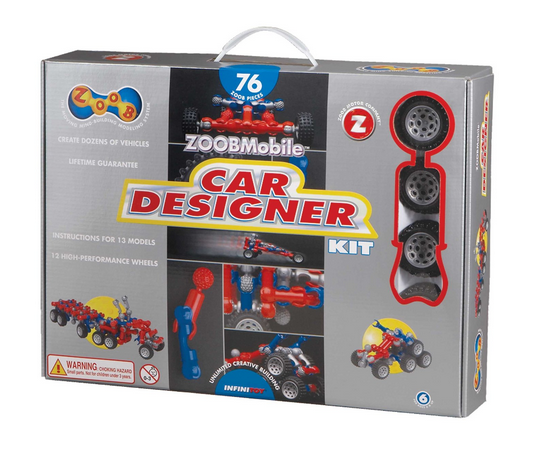Save 50% Off the ZOOB Car Designer Toy (Reg. $40!)