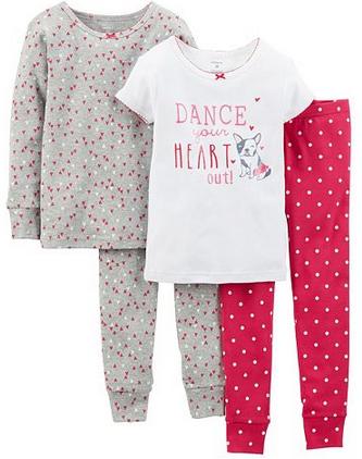 Kohl S Carter S Pajamas Only 3 60 Per Pair