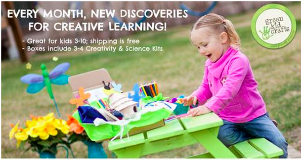 Green Kids Crafts: Get A Free Discovery Box When You Join for 3 Months ($19.95 Value)