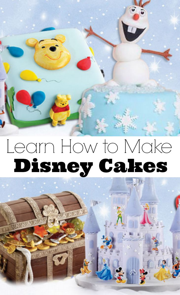 how to make disney cakes
