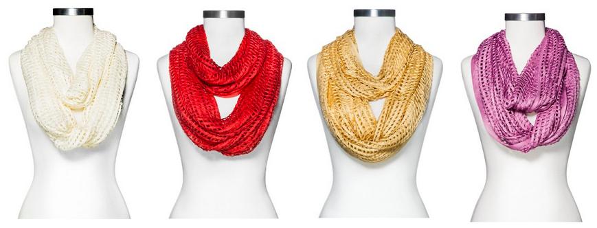 target womens scarves