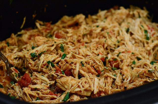 Chicken Tacos Crock Pot