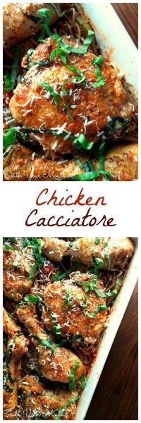 how to make chicken cacciatore in a crock pot