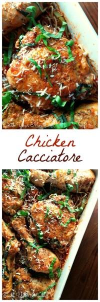 Crock Pot Chicken Cacciatore Recipe
