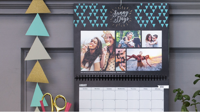 Mixbook Photo Calendars on Sale