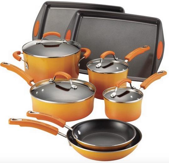 Rachael Ray 12-Piece Cookware Set $95.99 (Reg. $159.99!)
