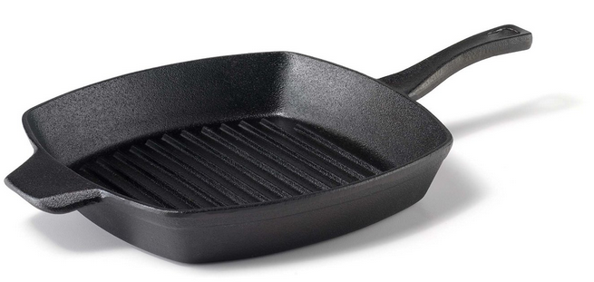 10″ Calphalon Pre-Seasoned Cast Iron Square Grill Pan , Only $14.99!