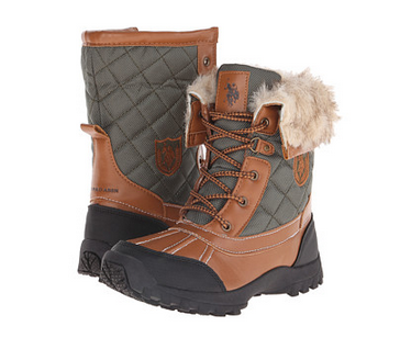 Unique Ralph Lauren Polo Women Snow Boots Fur Shoes Brown  Polyvore