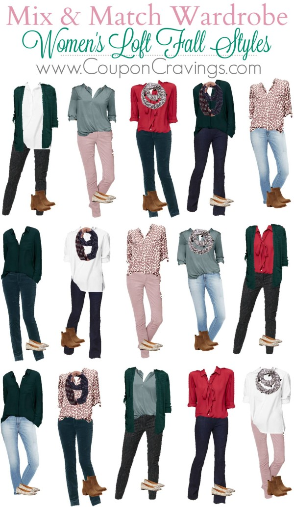 Looking for Trendy Women's Clothing Online? This board has 14 items that will make 15 outfits - get dressed for Fall on a budget and also look SUPER stylish!