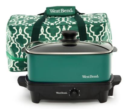 West Bend 5 Quart Versatility Crock Pot 20 Off Includes