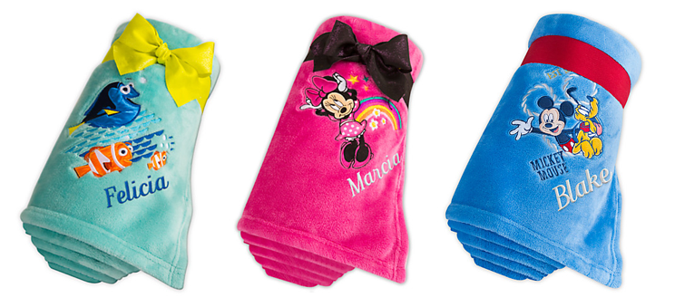 DisneyStore.com: Personalized Disney Fleece Throws Only $12 - Deals & Coupons
