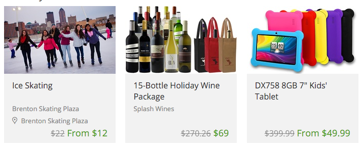 Groupon save off local deals