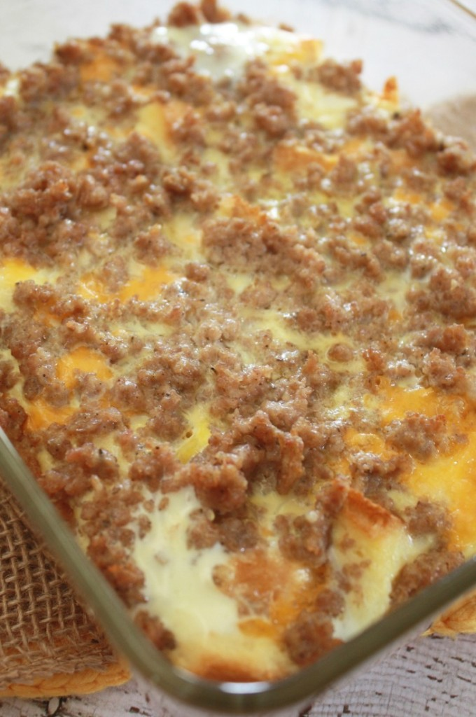 sausage breakfast casserole recipe