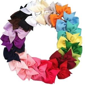20pcs Boutique Hair Bows