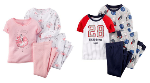 Kohl's: Carter's 4-piece Pajama Sets, Only $3 65 Each! -