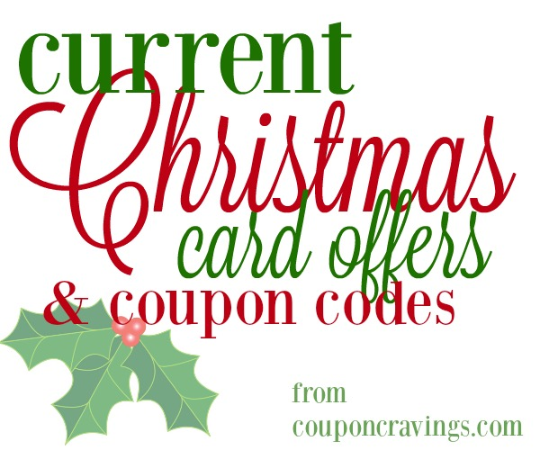 Current Christmas Card Deals & Offers (09/25/16)