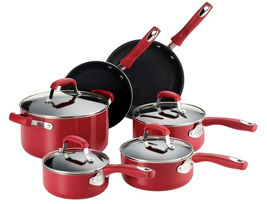 Guy Fieri Nonstick Cookware Set (10-Piece)