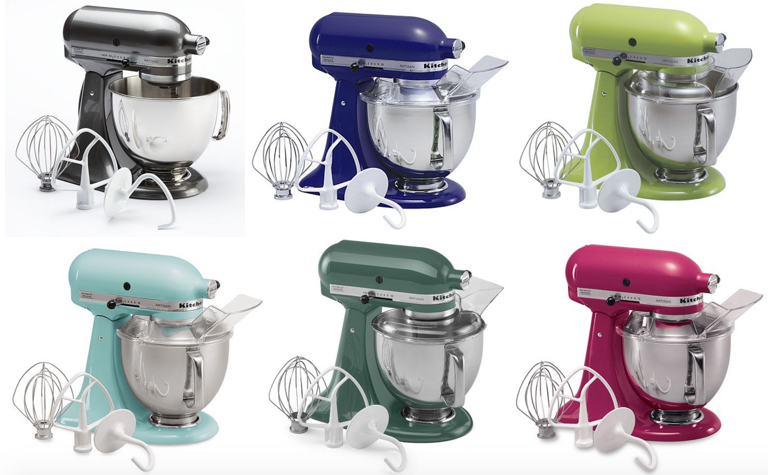 *HOT* KitchenAid Artisan 5-qt. Stand Mixer ONLY $147.99 (Reg. $349.99!)