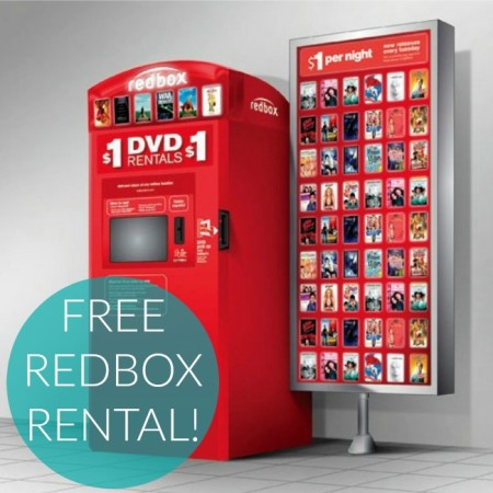Redbox Coupon Free Movie Rental