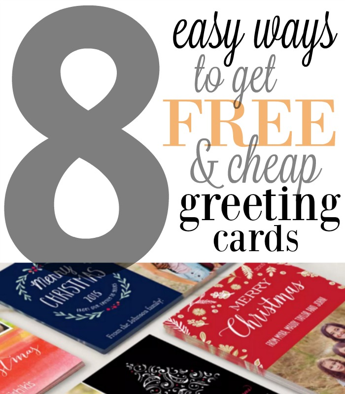 ways to save on christmas greeting cards - Cheap Christmas Cards Photo