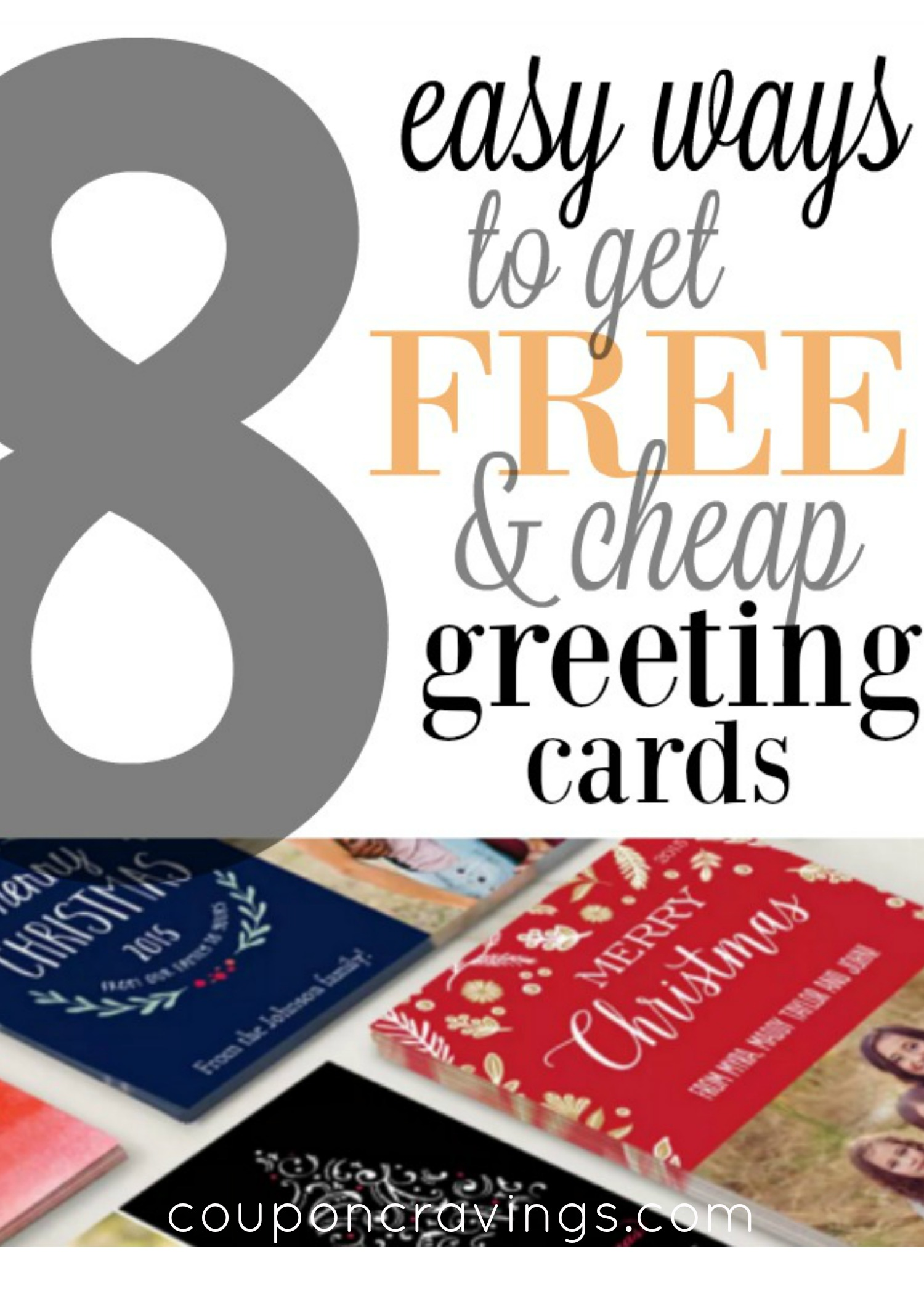 8 Free And Cheap Ways To Save On Christmas Greeting Cards