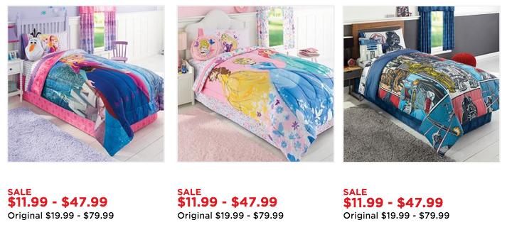 Kohl's.com: Kid's Character Comforters Only $15.29 (Frozen, Star Wars & More!)